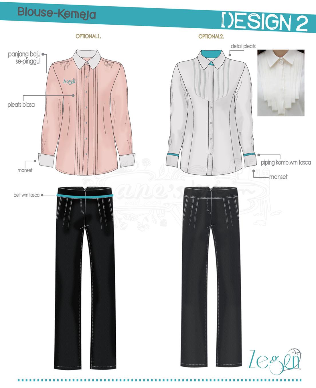 NeqDESIGN: Jasa Membuat Design Baju Seragam Kerja