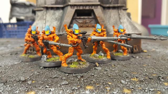 aeldar eldar guardian to ranger conversion