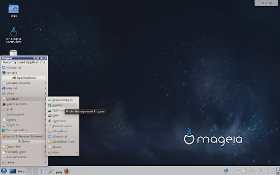 Mageia 6 staging1 released