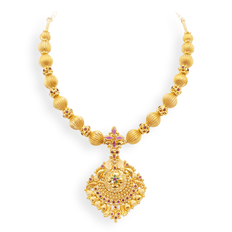 Indian Jewellery and Clothing: Necklace sets from GRT jewellers..