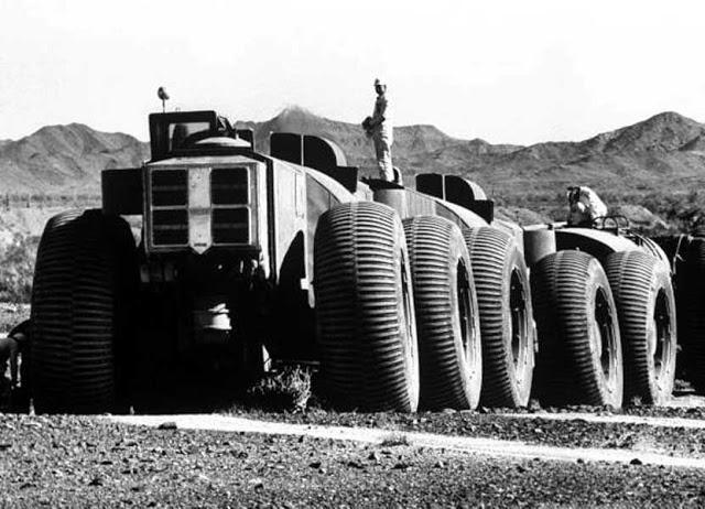 LeTourneau TC-497 salah satu mobil truk terbesar di dunia