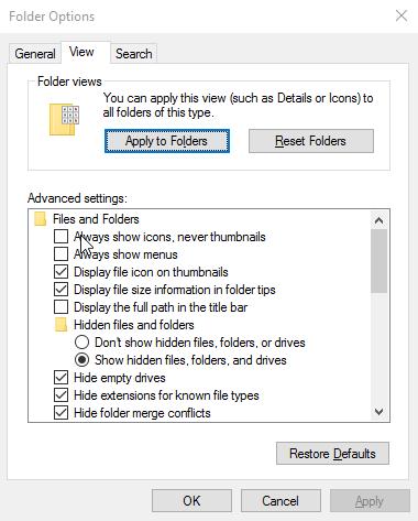 كيفية حل مشكلة الصور لا تظهر في الكمبيوتر