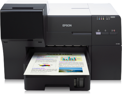 yield ink tanks mean less supply changes so less waste production Epson B-300 Printer Driver Downloads