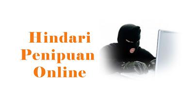 Tips Menghindari Penipuan Ketika Belanja Online.
