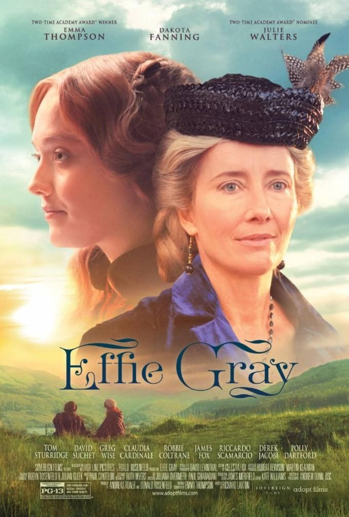 Effie Gray Uma Paixão Reprimida – a história de um escândalo