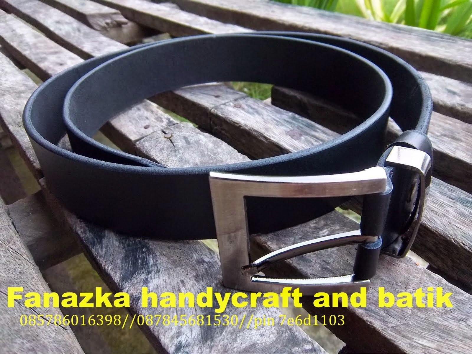 BELT-COW LEATHER