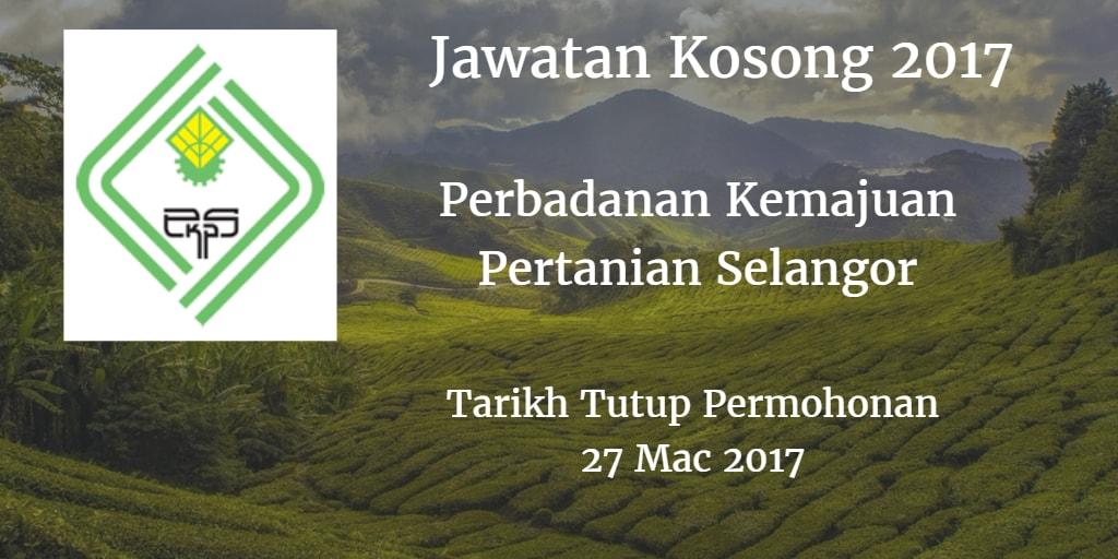 Jawatan Kosong PKPS 27 Mac 2017
