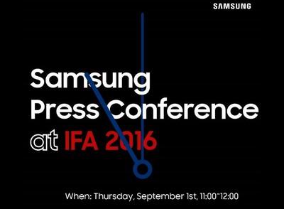 Samsung terrà il proprio evento di presentazione dell'IFA il 1° Settembre