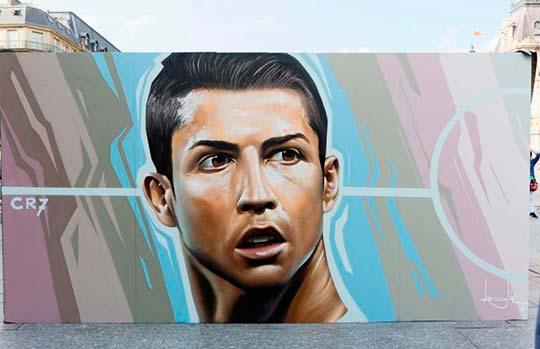 Cristiano Ronaldo por Belin (Fotografía de Henri Garat)