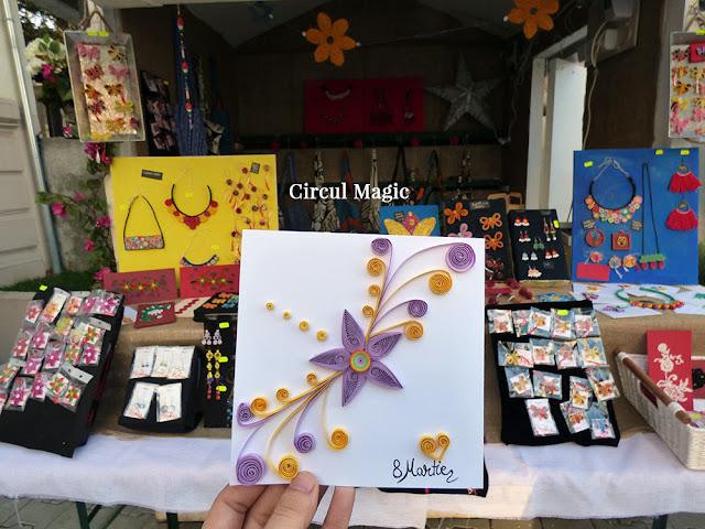 Felicitari Quilling Handmade Circul Magic Ganduri Bune