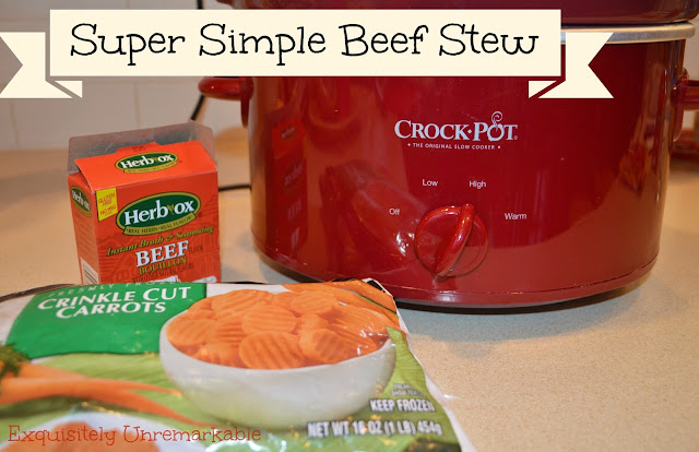 Super Simple Beef Stew