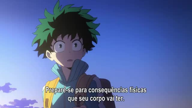 Boku No Hero Academia – Episódio 04