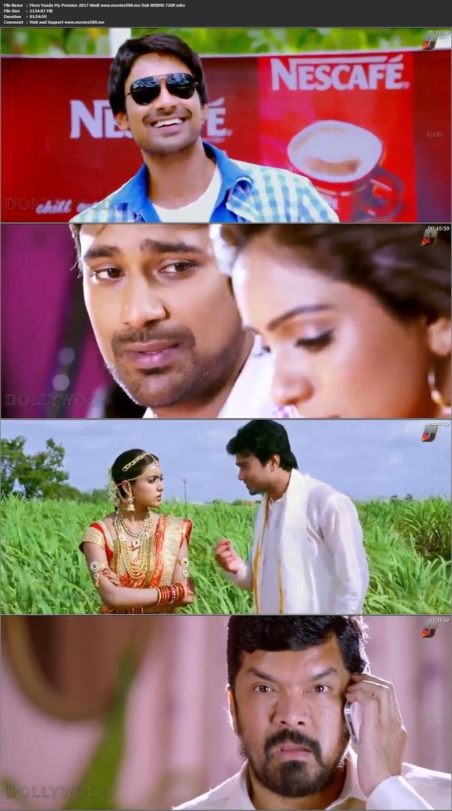 Mera Vaada My Promise 2017 Hindi Dub WEBHD 720P 1GB
