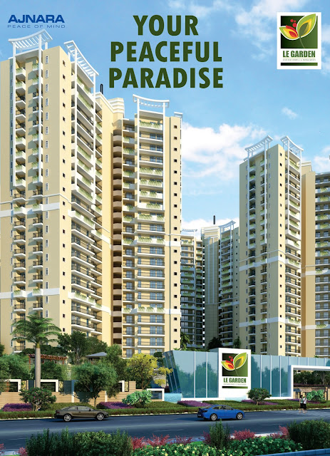 Ajnara Le Garden residential projects at Noida Extension