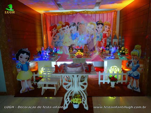 Decoração Princesas Baby da Disney provençal