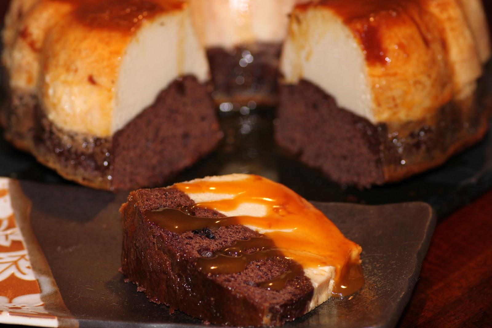 Chocolate Caramel Flan Cake Recipe