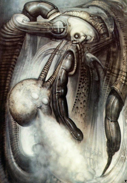 alien explorations hr gigers mordor v did the painting