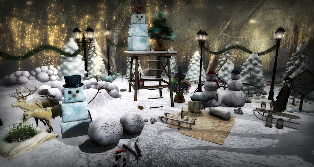 """And in the meadow we can build a snowman..."" Featuring the December De(c)ocrate & CIR"