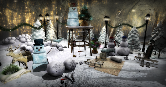 """And in the meadow we can build a snowman..."" Featuring the December De(c)ocrate & CIRCA"