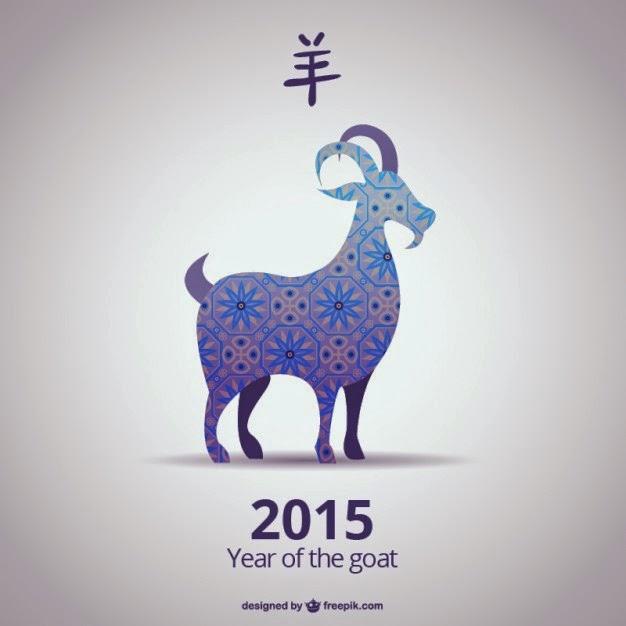 Nouvel an chinois 2015 : année de la chèvre.