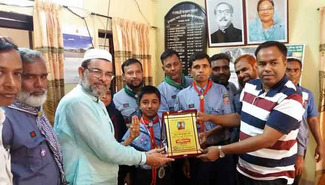 Saptahar Minhajul Country is the 2nd best student reception