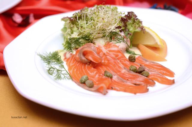 Carpaccion De Salmon