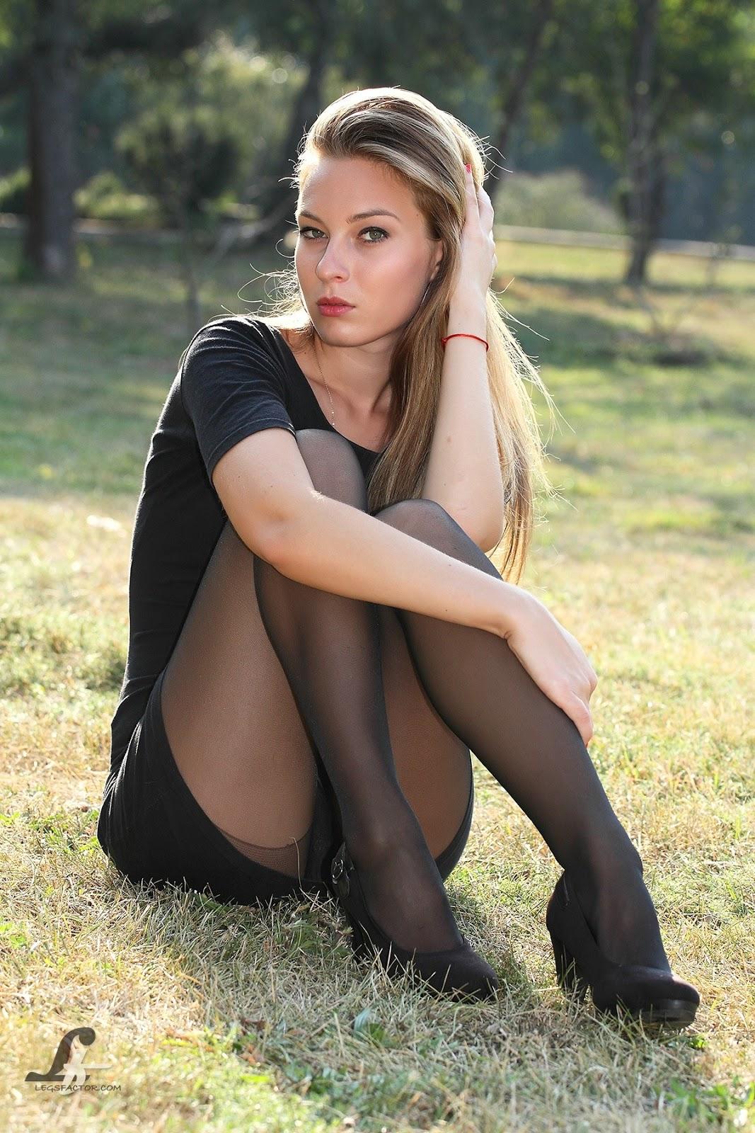 Russian Teen Outdoor