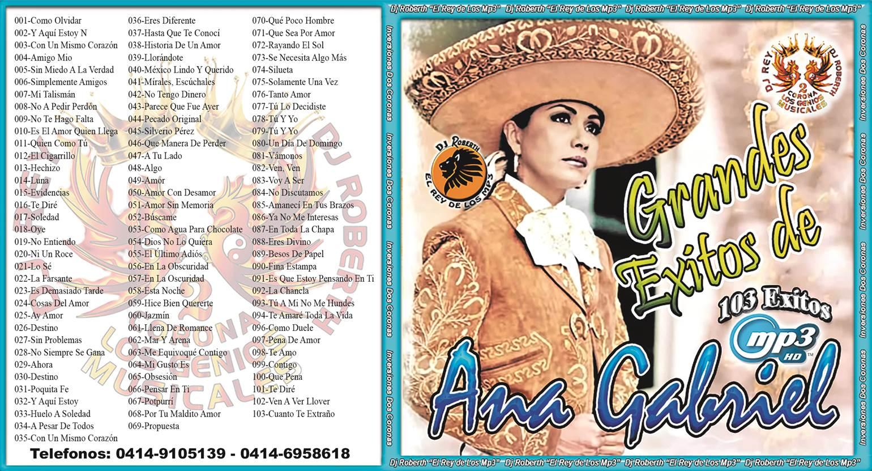 Descargar Mp3 de Ana Gabriel Mi Amigo gratis