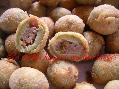 antipasto con le olive
