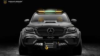 Mercedes-Benz X-Class Pickup Design 6x6