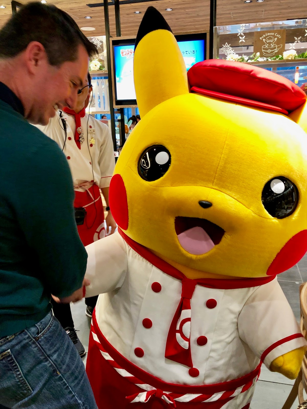 Pokemon Cafe Tokyo Pikachu Show