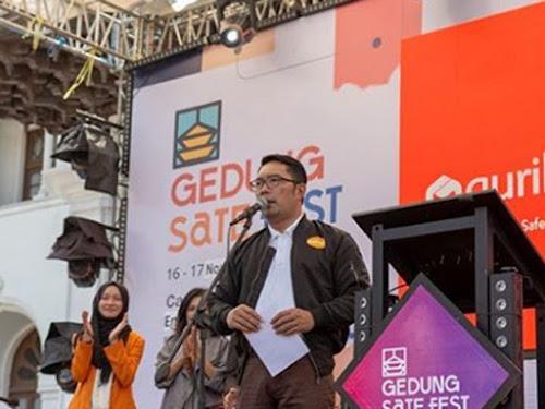 Launching aplikasi Gurilaps Jabar