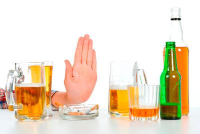 Evita consumo excesivo Alcohol