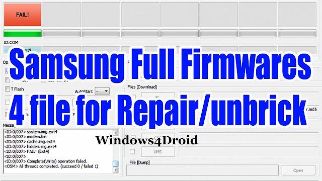 رومات كاملة اربع ملفات لجهاز Samsung Galaxy S2 GT-I9100