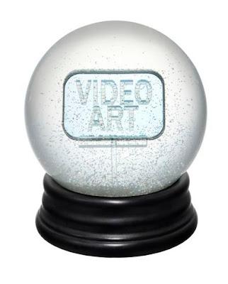 Video Art snow globe