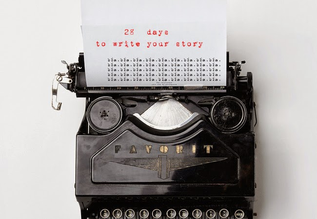 28 days to write your story #intro