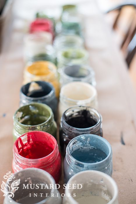 We carry a variety of paints & finishing supplies, a little something for everyone!