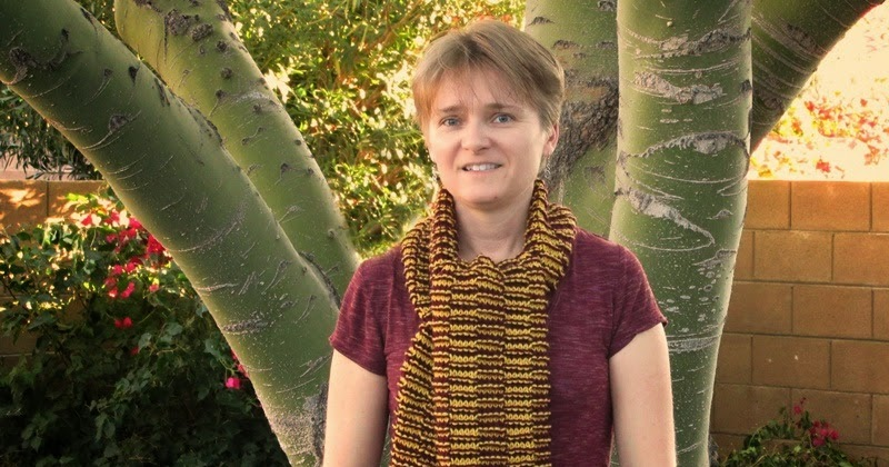 Knitting Pattern Magic Gryffindor Scarf The Chilly Dog