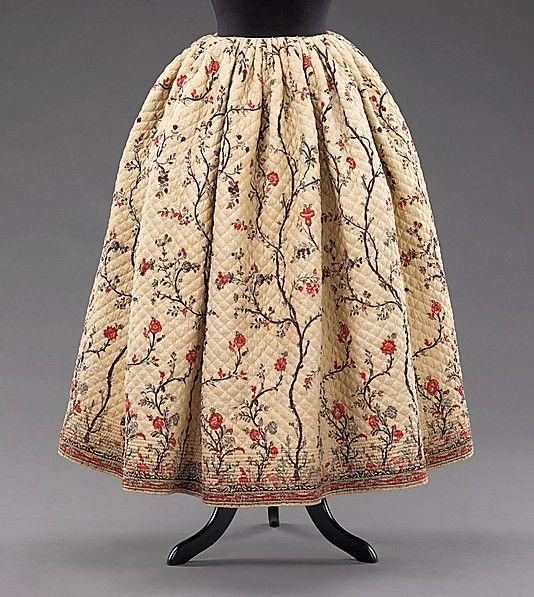 Женский костюм середины 19 века