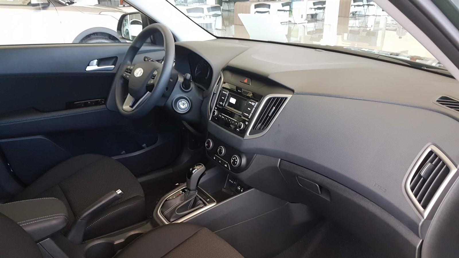 Hyundai creta pulse 1 6 autom tico v deo pre os for Creta sx o interior