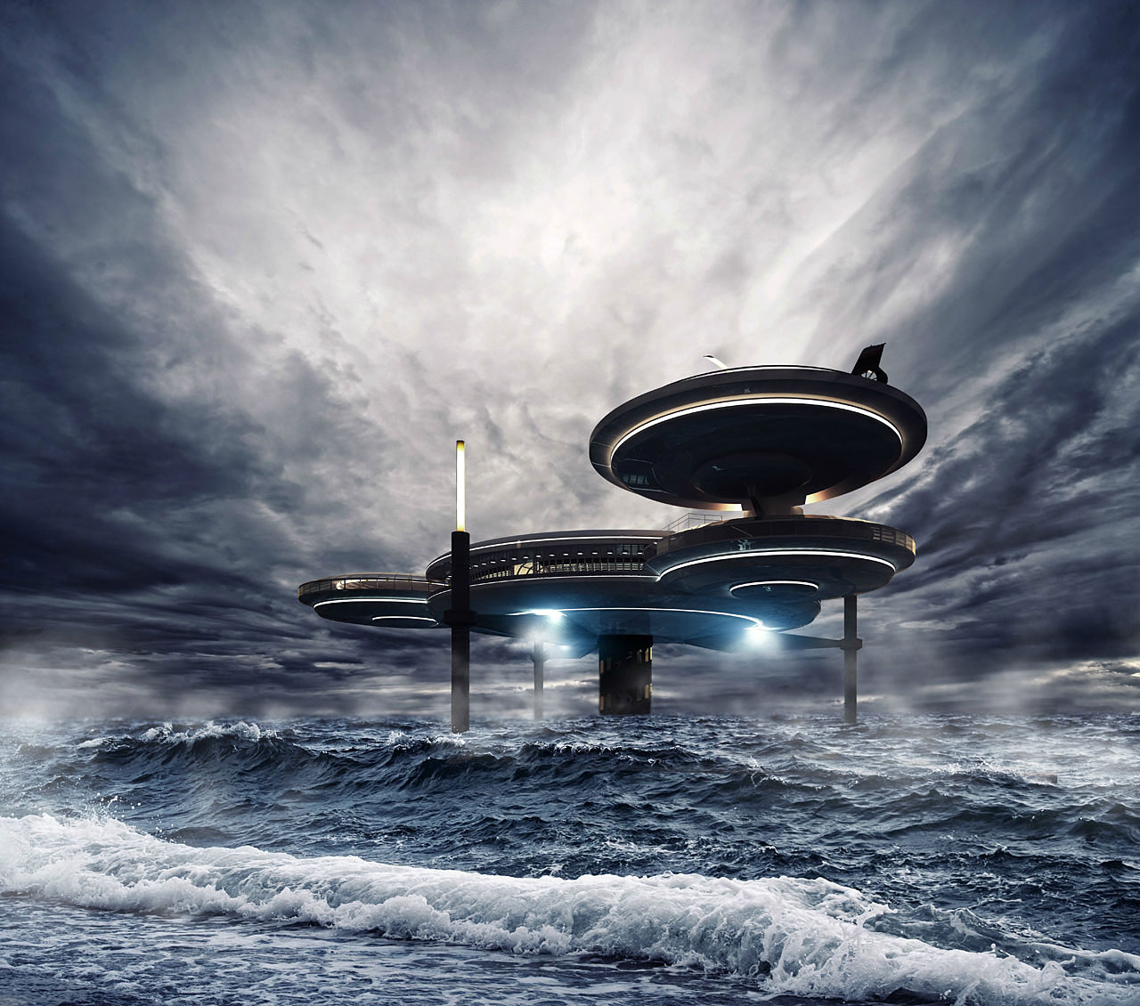Passion For Luxury : Underwater Hotel Planned In Dubai