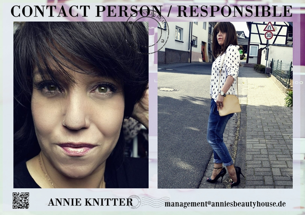 MediaKit Annies Beauty House - Contact Person Responsible Person