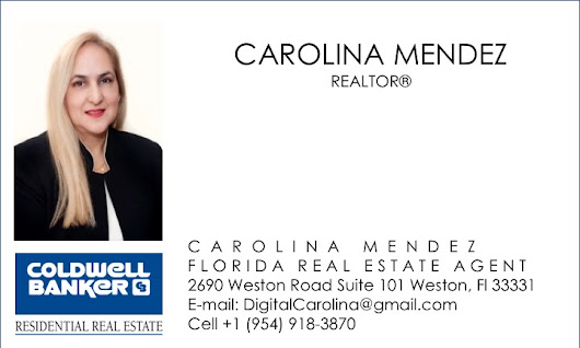 Carolina Mendez showcased by Coldwell Banker's Brand Ambassador on Instagram