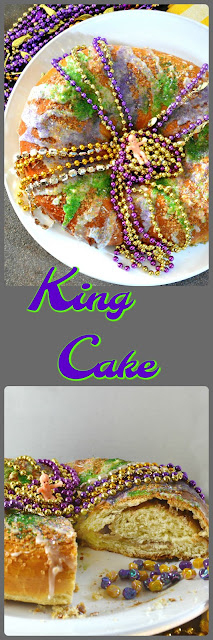 King Cake, Mardi Gras Recipes