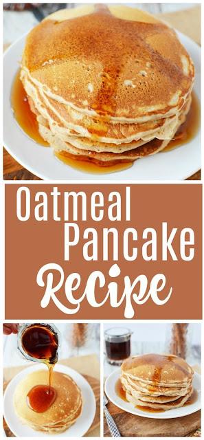 Healthy Pancakes – Oatmeal Pancake