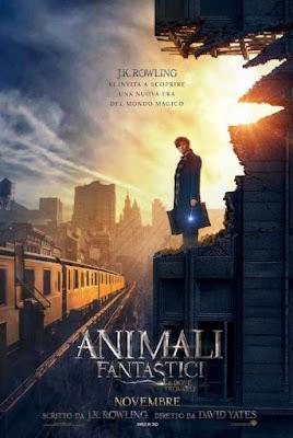 Animali fantastici e dove trovarli-poster