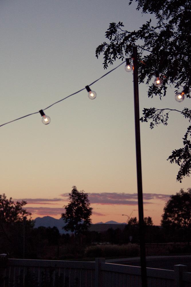 Bright July: {DIY}: Outdoor String Lights on Backyard String Lights Diy id=32524