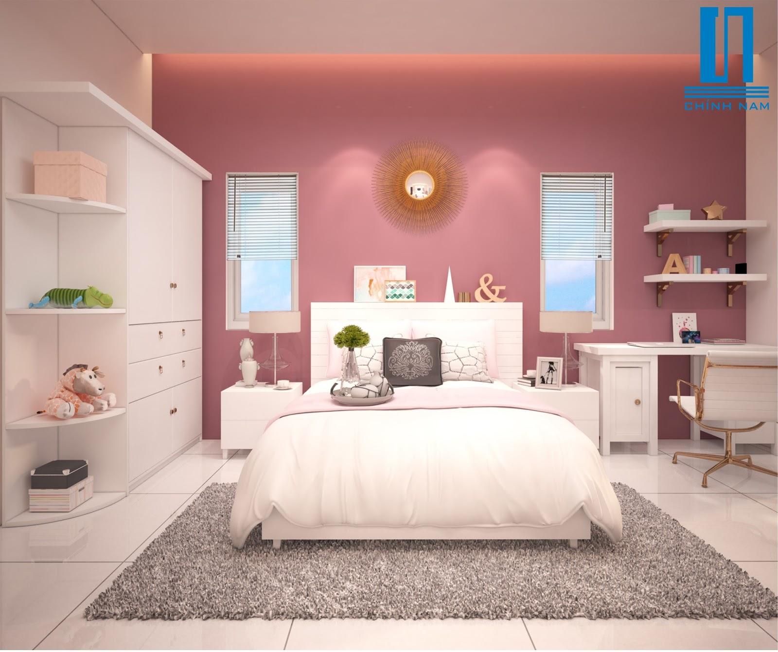 Nội thất phòng ngủ em bé