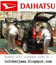 Lowongan Kerja Terbaru PT Astra Daihatsu Motor (ADM)