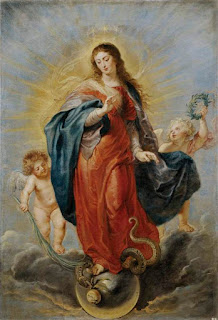 Virgen María aplasta al Diable